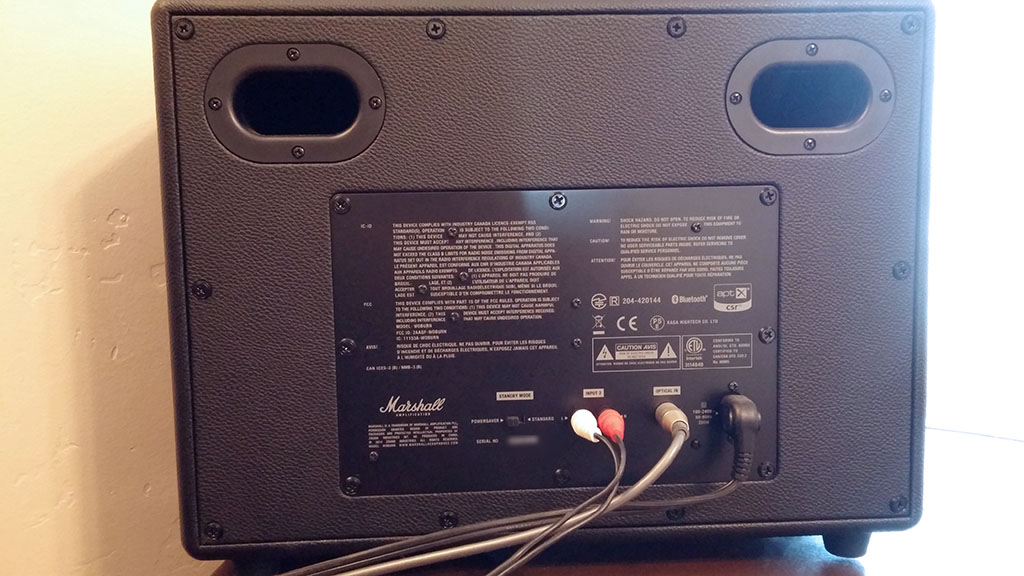Marshall Woburn Bluetooth Speaker Review What Monkey Says