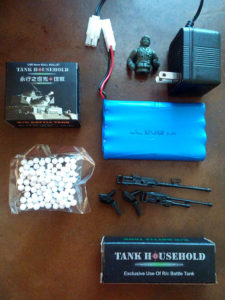 Hugine 15 Channel 1/20 RC Tank USA M60