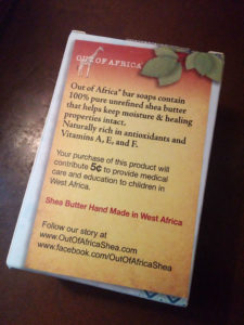 Out Of Africa Unscented Shea Butter Bar Soap