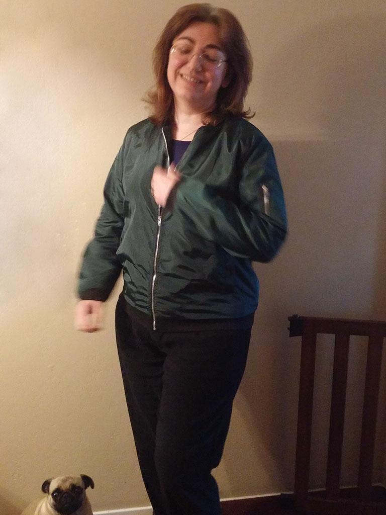 Nagoo Womens Bomber Jacket