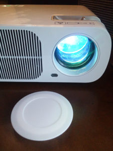 JAVION LED 2600 Lumens Projector