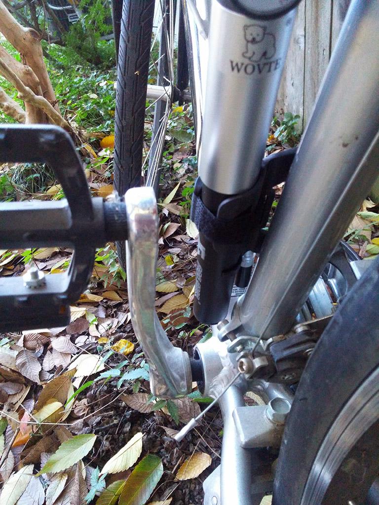 WOVTE Mini Bike Pump with Pressure Gauge