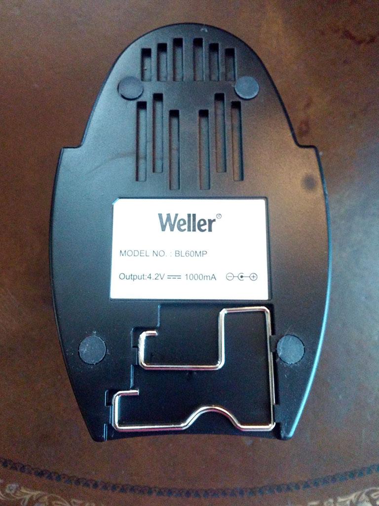 Weller BL60MP Cordless Soldering Iron